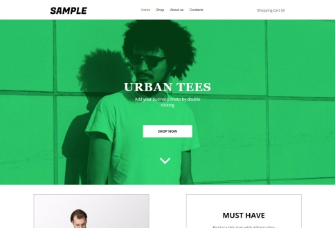 T-shirts urbains